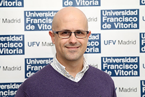 Víctor Sánchez Arévalo El proyecto de investigación de Víctor Sánchez Arévalo, profesor de Biotecnología y Biomedicina en la UFV, financiado por el Instituto de Carlos III Estudiar en Universidad Privada Madrid