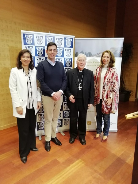 WhatsApp Image 2019 01 21 at 12.36.56 El obispo Juan Antonio Reig Pla, en la Jornada de Formación de los COF Estudiar en Universidad Privada Madrid