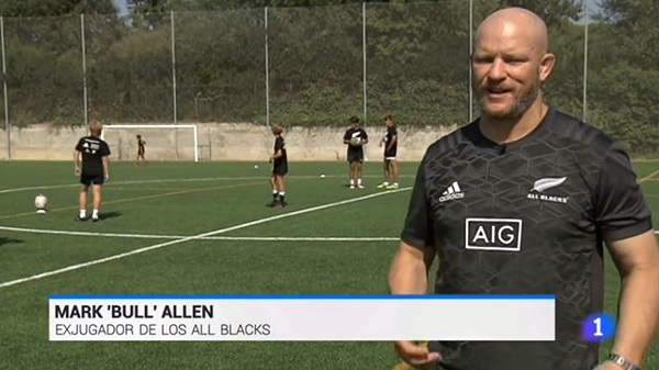 allblackstve La Universidad Francisco de Vitoria acoge el primer Clinic de los All Blacks en Europa