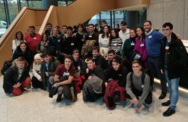 alumnos informática Los alumnos de Ingeniería en Informática visitan el IBM Watson IoT, en Muchich Estudiar en Universidad Privada Madrid