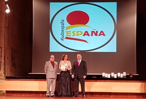 d9ef297e 47fc 4017 a820 9b0232d65720 María Merino, galardonada por la Federación Española de Judo