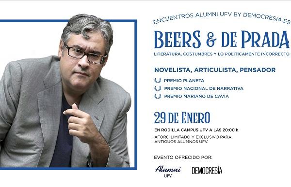 f3b3649a 1112 45d5 b1f3 ee1128498844 Cuarto encuentro Alumni byDemocresia con el escritor Juan Manuel de Prada Estudiar en Universidad Privada Madrid