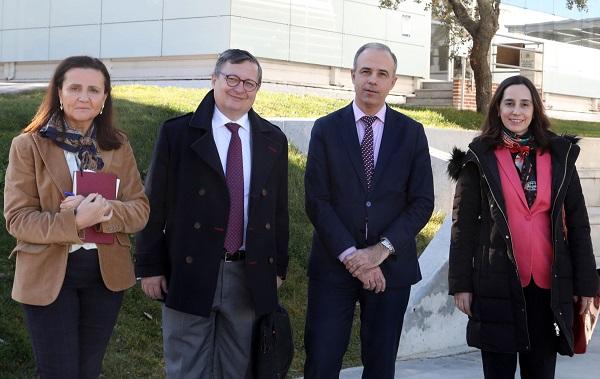 fca4f81b a87b 4b2a b2cf 41057e73b15b Una delegación de BBVA visita el campus
