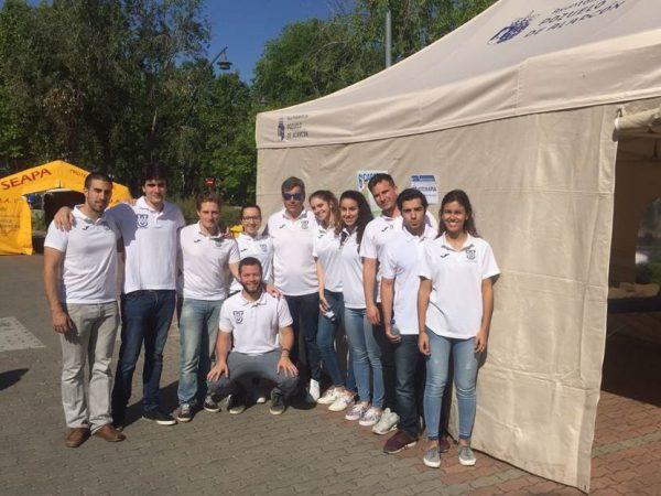 fisioterapia carrera 600x450 1 La Universidad Francisco de Vitoria colabora en la carrera popular Ciudad de Pozuelo, en la que han participado 1.400 corredores