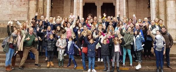 peregrinacion covadonga La Familia UFV peregrina a Covadonga