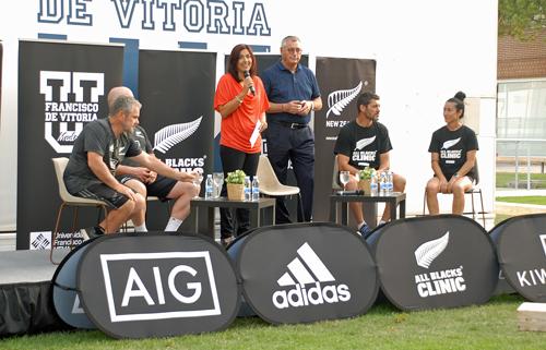 secretaria de estado La secretaria de Estado para el Deporte, María José Rienda, y el embajador de Nueva Zelanda, Andrew Jenks, se reúnen con empresas en la UFV