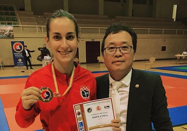 7f9a5602 5819 4b31 9939 56c7ab774271 Belén Amaro García, alumna de la UFV, campeona de España de Korean semi contact