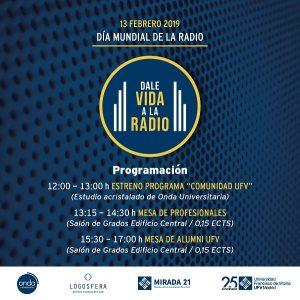 AAFF Campaña Radio RRSS 800x800 V2 01 300x300 La UFV celebra hoy el Día Mundial de la Radio con profesionales del medio