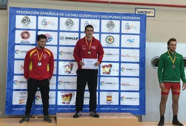 ENRIQUE 1 Enrique Vilaplana de Lorenzo, alumno de la UFV, campeón de España sub23 de Lucha Grecorromana