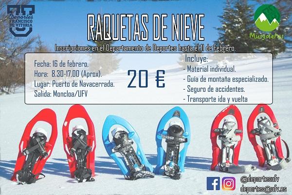 b181174b 49db 4597 8fc2 e2594f2139cb El Club Musgoletus organiza una salida de raquetas de nieve por el puerto de Navacerrada