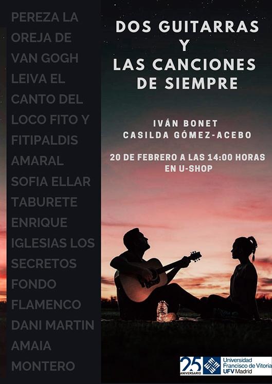 concierto 20 feb u shop Actividades Culturales