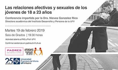 conferencia relaciones afectivas Padres UFV
