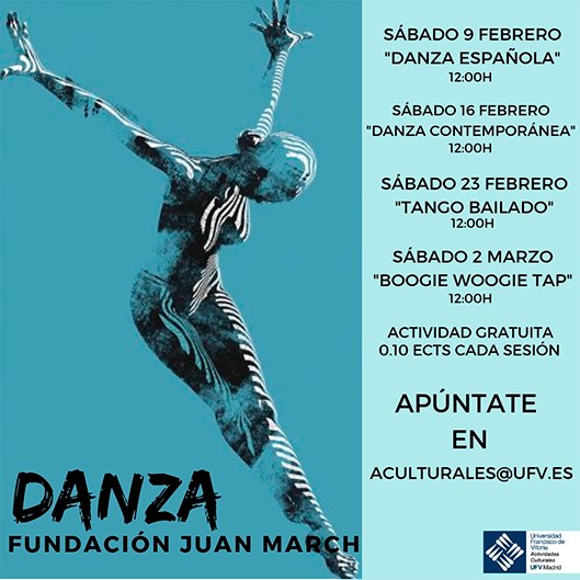 danza fundacion juan march Actividades Culturales