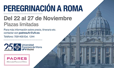 peregrinacion roma padres ufv 392x235 Padres UFV