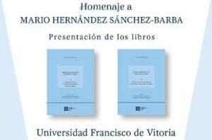 3caa8084 3ba5 48c0 b47e 8bea7394b579 300x198 Homenaje al profesor Mario Hernández Sánchez Barba, profesor de la UFV