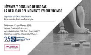 9be2fcca 7ce3 48a6 94c6 9ae378db7b24 300x180 Ana Ozcáriz, directora del Grado en Psicología, ofrecerá la conferencia Jóvenes y consumo de drogas