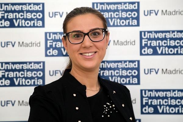 Almudena Crespo Cañizares Almudena Crespo, profesora de la UFV, defiende su Tesis Doctoral con Sobresaliente Cum Laude
