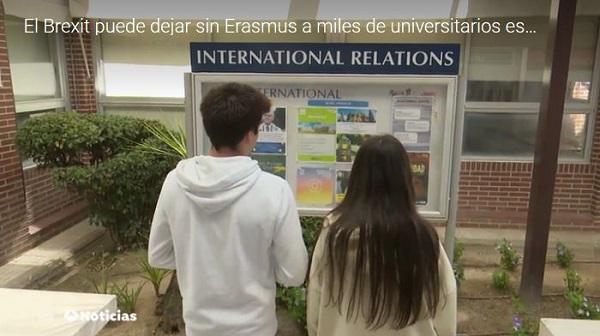 Captura 4 El Brexit puede dejar sin Erasmus a miles de universitarios españoles. Los alumnos Esther y Albert, y Juan Pérez Miranda, vicerrector de Internacionalización nos lo explican