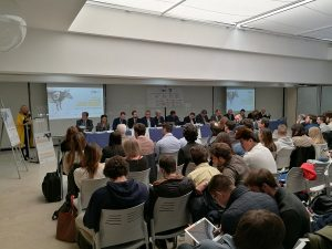 Clausura 300x225 La Universidad de Huelva gana el II Concurso Nacional de Estrategia Empresarial organizado por la Universidad Francisco de Vitoria Estudiar en Universidad Privada Madrid