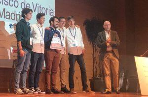GanadoresGlobalLegalHackaton2019 300x197 La Universidad Francisco de Vitoria será la sede en España del II Hackathon Legal Mundial