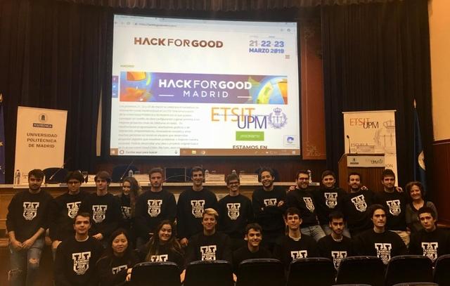 IMG 20190321 WA0007 1 Easy Resize.com  La UFV participa en HackForGood en el que Telefónica reunirá a cientos de hackers para dar respuesta a retos sociales que construyan un mundo mejor