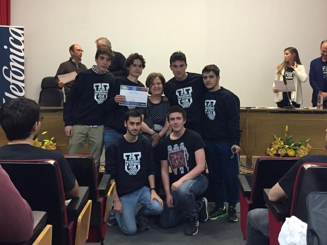 IMG 4418 Easy Resize.com  La UFV participa en HackForGood en el que Telefónica reunirá a cientos de hackers para dar respuesta a retos sociales que construyan un mundo mejor