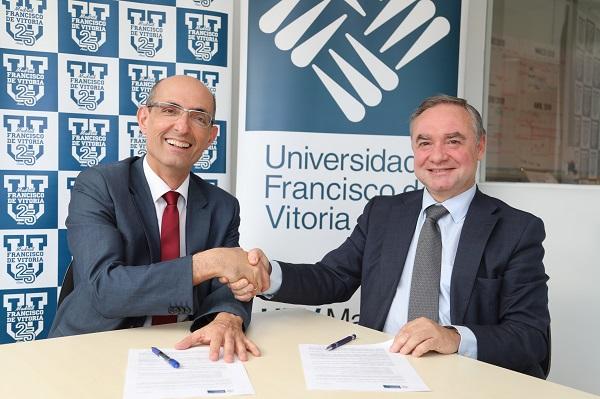 IMG 4691a La UFV firma un acuerdo de colaboración con la empresa CPM Formación GMP