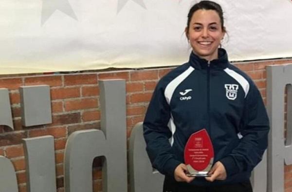 bbcb1a6d 19e9 43bc 81d6 67d4a0d966e9 Beatriz Soto, alumna de la UFV, campeona de halterofilia