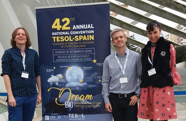 bc2cf8a9 8174 46ce 9fec 7e4cb7eeffa9 El Departamento de Idiomas participa en el Congreso Internacional TESOL SPAIN 2019