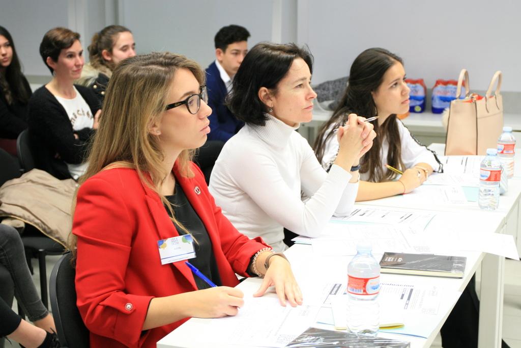 debate2 Isidro Catela y María Pérez participan como jueces en la Liga de Debate de Secundaria de la UC3M