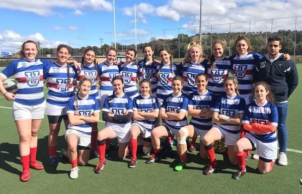 e0953d76 7c8b 434a badb 250e76a49961 Pódium para el equipo de Rugby Femenino de la UFV