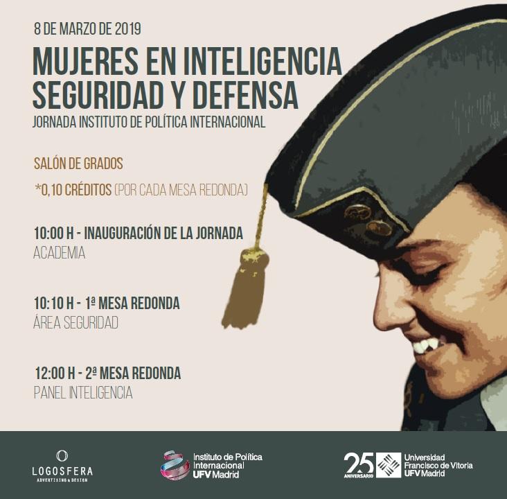 muj La UFV analiza el rol de la mujer en  la Defensa, la Seguridad y la Inteligencia