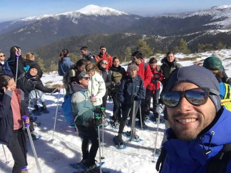 musgoletus1 Así fue la ruta por Navacerrada organizada por la Sociedad de Alumnos Musgoletus Estudiar en Universidad Privada Madrid