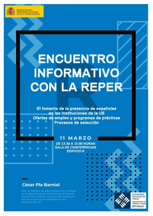 reper2 Encuentro informativo sobre ofertas de empleo y prácticas en Instituciones de la UE