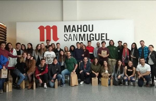 unnamed 2 Alumnos de Biotecnología visitan la fábrica de Mahou San Miguel