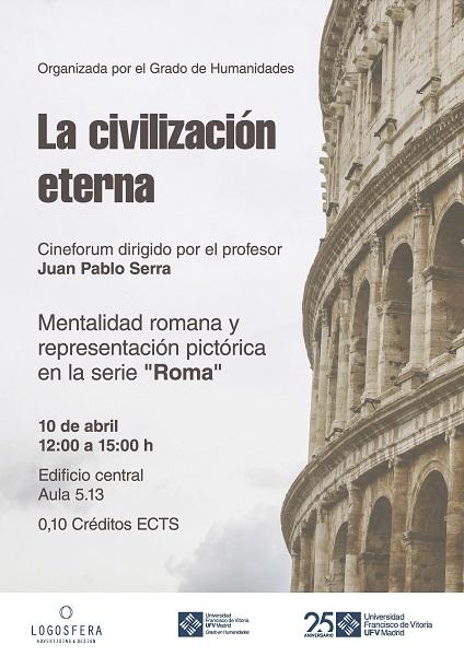 AAFF Roma V2 Cineforum Roma, con el profesor Juan Pablo Serra
