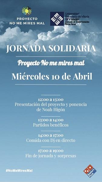Captura 3 La Universidad Francisco de Vitoria (Madrid) y el Proyecto No me mires mal organizan una jornada solidaria sobre enfermedades raras