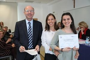 Carmen Barrios La Universidad Francisco de Vitoria (Madrid) entrega los I Premios Cum Laude a la investigación en bachillerato