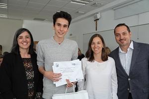 Diego La Universidad Francisco de Vitoria (Madrid) entrega los I Premios Cum Laude a la investigación en bachillerato