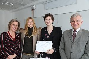 Elena La Universidad Francisco de Vitoria (Madrid) entrega los I Premios Cum Laude a la investigación en bachillerato