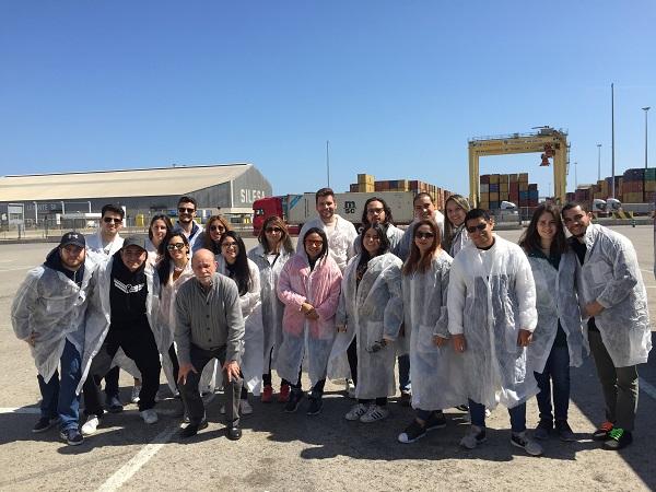 IMG 0877 Alumnos de postgrado visitan el Puerto de Valencia