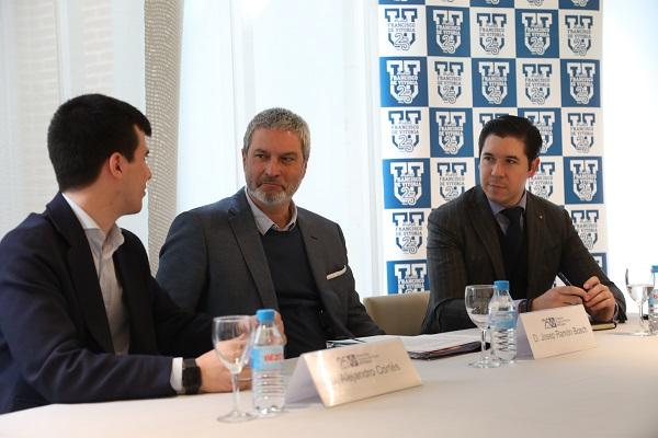 IMG 6779 Encuentro con el presidente de Societat Civil Catalana, Josep Ramón Bosch, en la Universidad Francisco de Vitoria (Madrid)