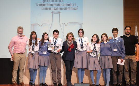 IMG 7760 1 Easy Resize.com  e1556547928788 El colegio Santa Gema Galgani gana la VII edición del Torneo Intermunicipal de Debate Escolar de la UFV