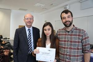 Iztiar La Universidad Francisco de Vitoria (Madrid) entrega los I Premios Cum Laude a la investigación en bachillerato