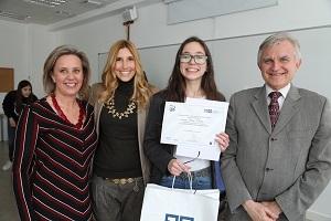 Laura La Universidad Francisco de Vitoria (Madrid) entrega los I Premios Cum Laude a la investigación en bachillerato