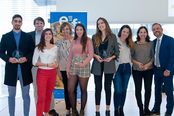 N PRENSA S EFI ABRIL LOW004 Los alumnos del Grado en Publicidad reciben dos premios Eficacia Universidades