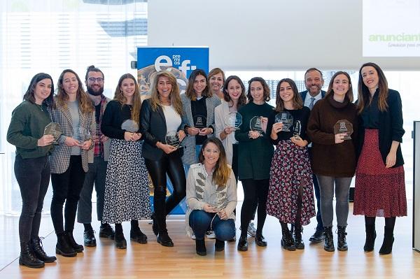 N PRENSA S EFI ABRIL LOW006 Los alumnos del Grado en Publicidad reciben dos premios Eficacia Universidades