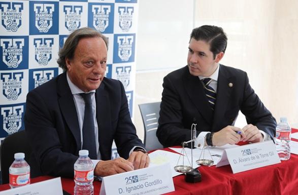 gordillo alvaro de la torre El abogado y ex fiscal de la Audiencia Nacional Ignacio Gordillo, visita la UFV para hablar del Procès