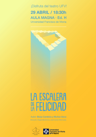teatro pasprof El Grupo de Teatro PAS/PROF representará la obra La Escalera de la Felicidad