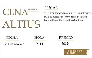 2815980e 51cc 4732 9ec7 5375e55a42b1 Cena benéfica Fundación Altius